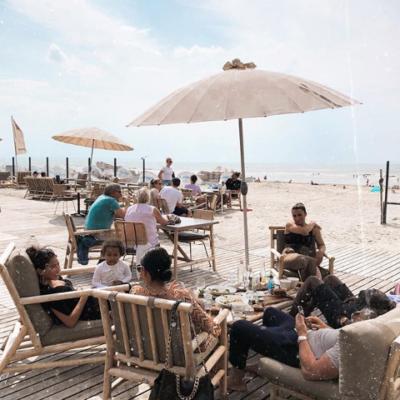 Eten aan zee in Zandvoort